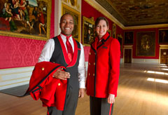 Jaeger uniforms for Kensington Palace