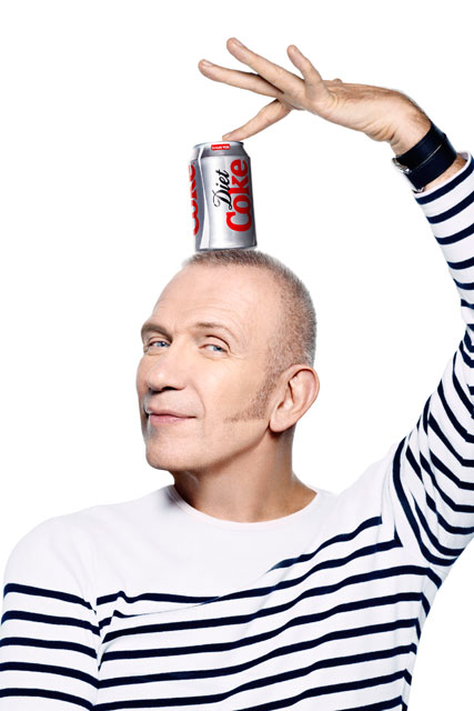 Jean Paul Gaultier named as the new Creative Director of Diet Coke