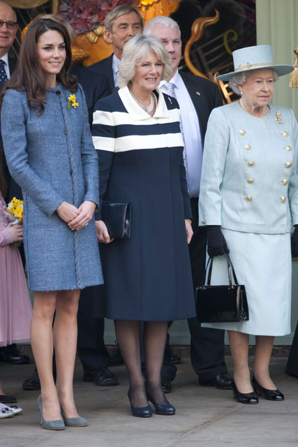 Kate Middleton, the Duchess of Cornwall and The Queen - Marie Claire - Marie Claire UK