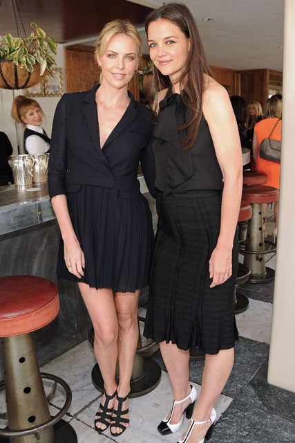 Katie Holmes and Charlize Theron - Marie Claire - Marie Claire UK