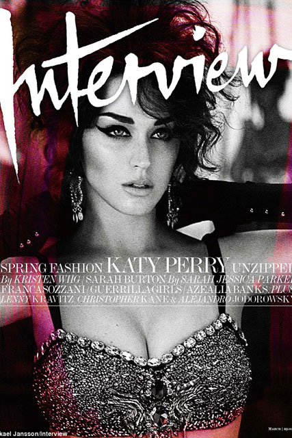 Katy Perry on cover of Interview - Marie Claire - Marie Claire UK