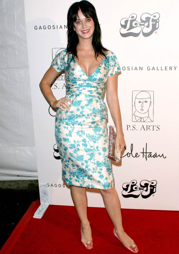 Katy Perry - Katy Perry Style Highs and Lows - Katy Perry Style History - Katy Perry & Russell Beand - Celebrity - Marie Claire
