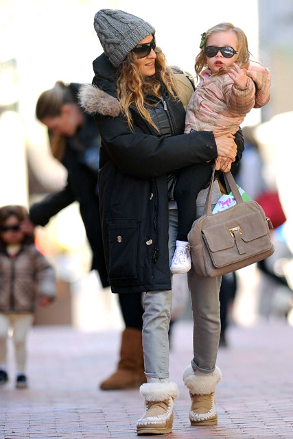 Sarah Jessica Parker - Sarah Jessica Parker's park playdate - Sarah Jessica Parker twins - Marie Claire - Marie Claire UK