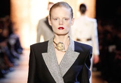 Yves Saint Laurent autumn winter 2012 - Paris Fashion Week - Marie Claire - Marie Claire UK