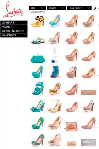 christian louboutin website