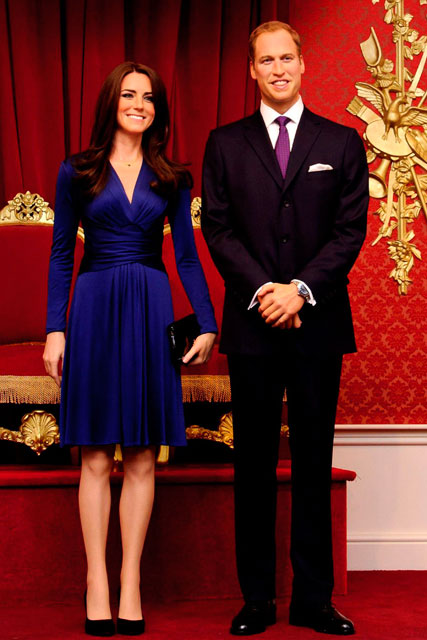 Kate Middleton and Prince William - Duke and Duchess of Cambridge waxwork - Marie Claire - Marie Claire UK