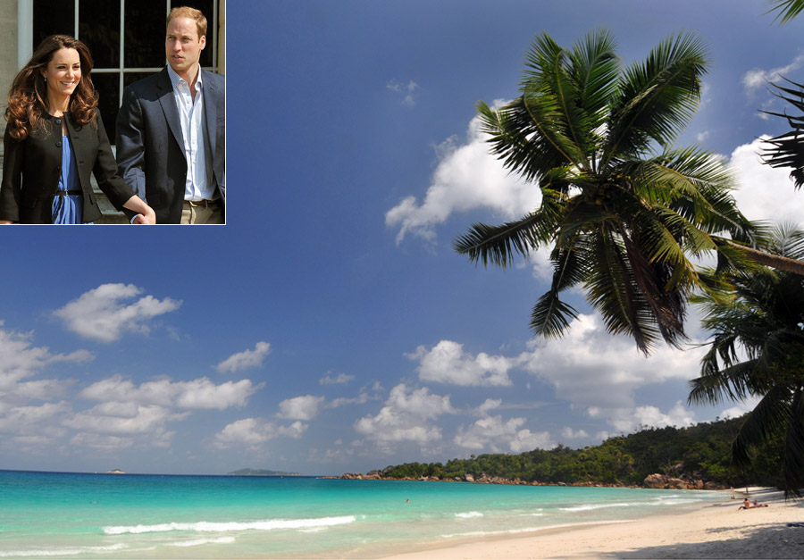 Prince William and Kate Middleton - Celebrity Honeymoon destinations - Honeymoon Destinations - Marie Clarie - Marie Clarie UK