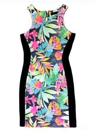 The Vestry tropical print dress, £35 - spring dress - spring dresses - day dress - fashion - shopping - marie claire uk