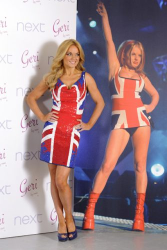 Geri Halliwell recreates that union jack dress