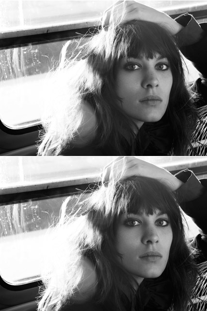 Alexa Chung is the new face of Maje