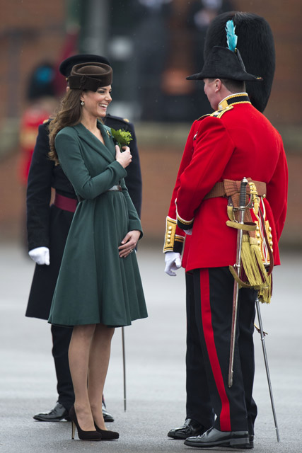 Duchess of Cambridge - Kate Middleton - St Patrick's Day - Marie Claire - Marie Claire UK