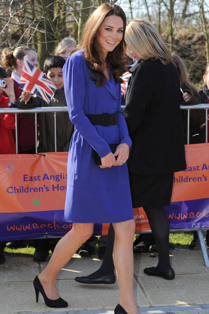 Kate MIddleton, Duchess of Cambridge - Opening of The Treehouse - Marie Claire - Marie Claire UK