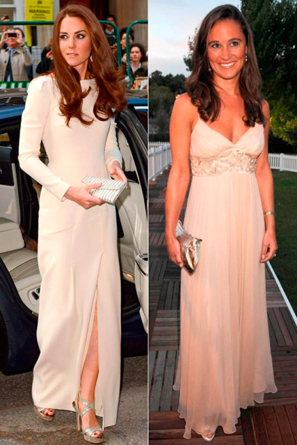 Kate Middleton and Pippa Middleton: Who wore it best?