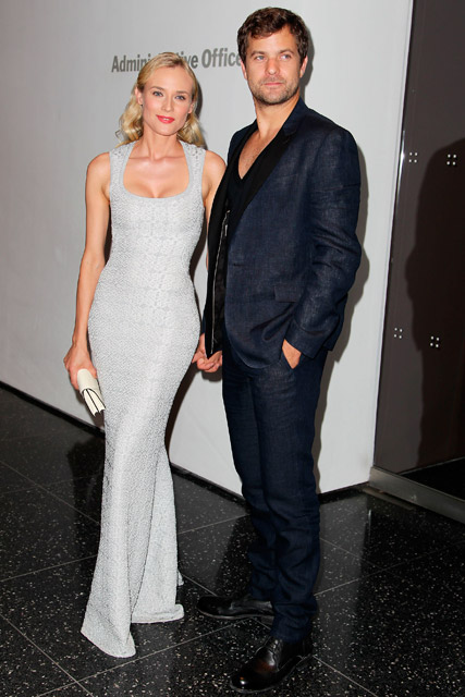 Diane Kruger and Joshua Jackson at a screening of Farewell My Queen at MOMA in New York