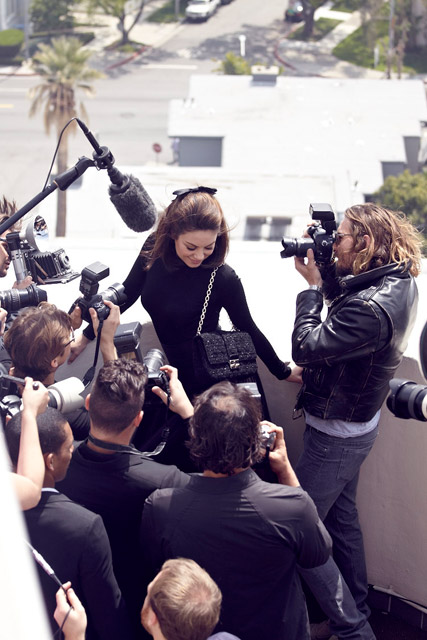 The making of Mila Kunis' Miss Dior campaign