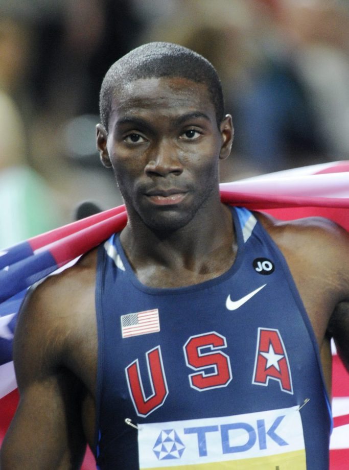 US athlete Kerron Clement