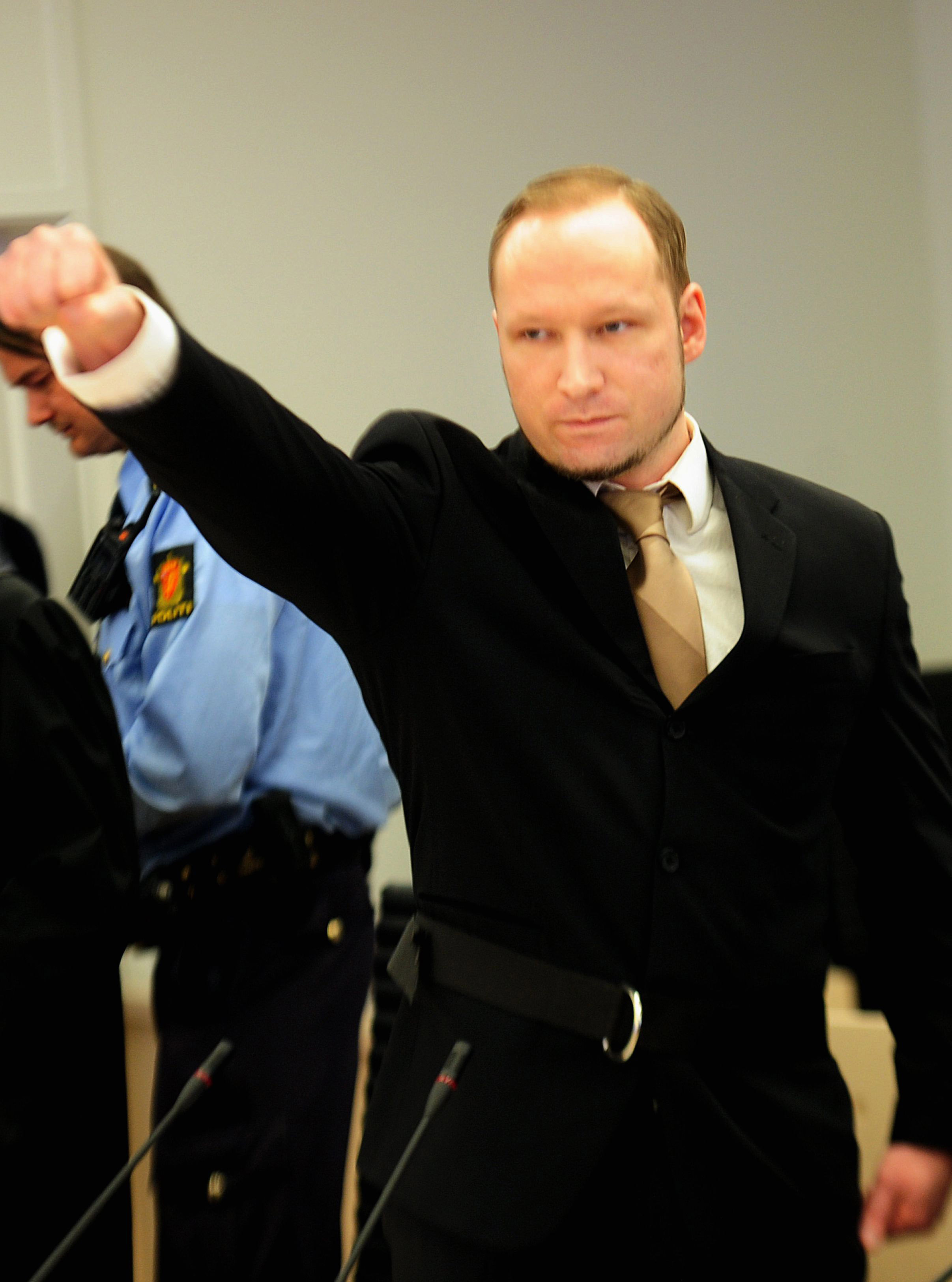 """anders breivik Anders breivik, the norwegian mass murderer who killed 77 people, has changed his name to fjotolf hansen the move, confirmed by his lawyer, came after an appeal by the killer against the """"inhumane"""" conditions in prison."""