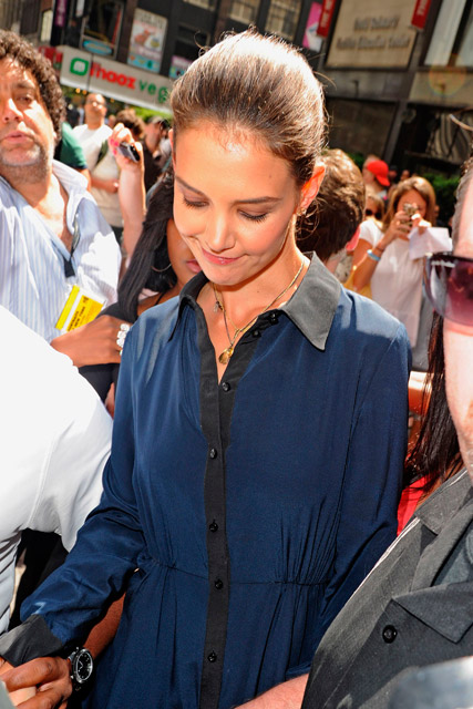 Katie Holmes - Katie Holmes and Tom Cruise divorce - Katie Holmes Project Runway - Katie Holmes New York - Marie Claire - Marie Claire UK