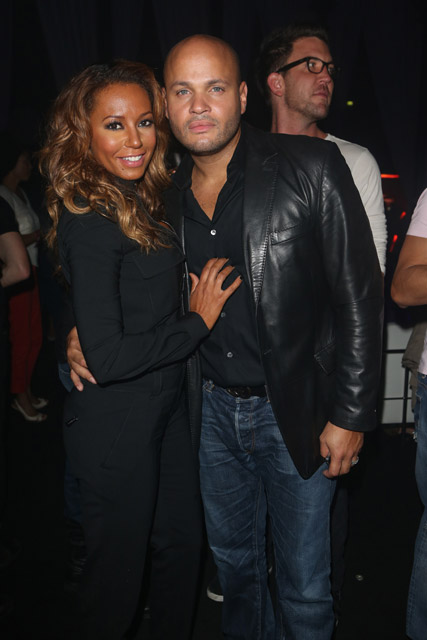 Mel B and Stephen Belafonte at the London 2012 Olympics