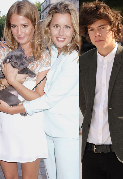 Harry styles and caggie dunlop not dating