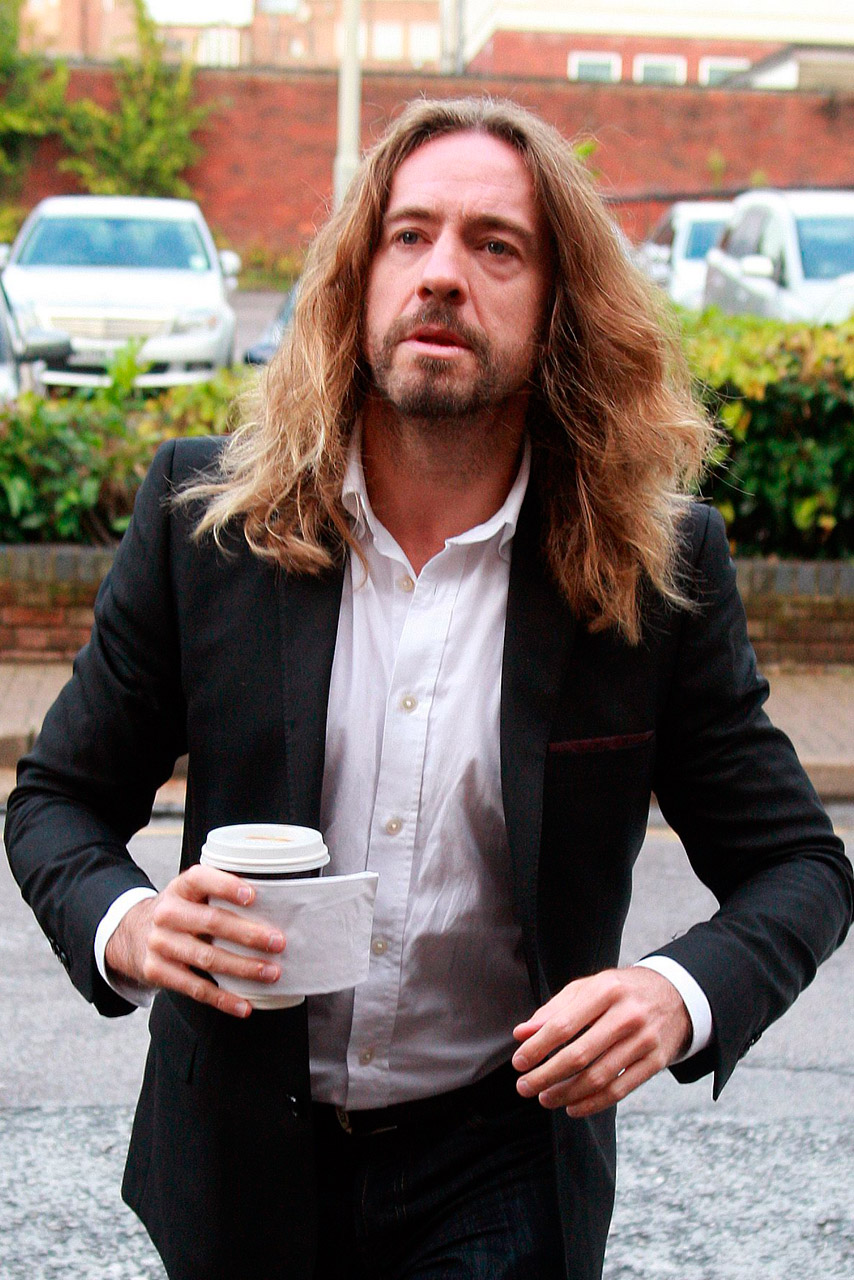 Justin Lee Collins forced girlfriend to recount sexual history'