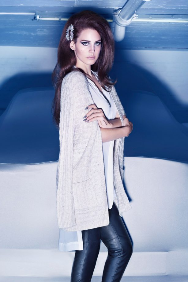 Lana Del Rey for H&M winter 2012