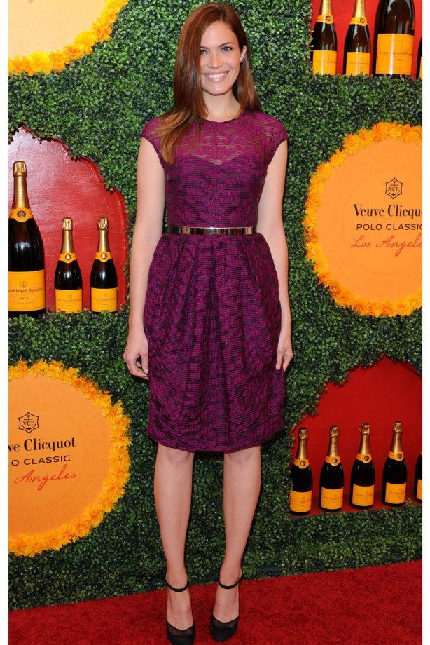 Mandy Moore at the Veuve Clicquot Polo Classic in Los Angeles