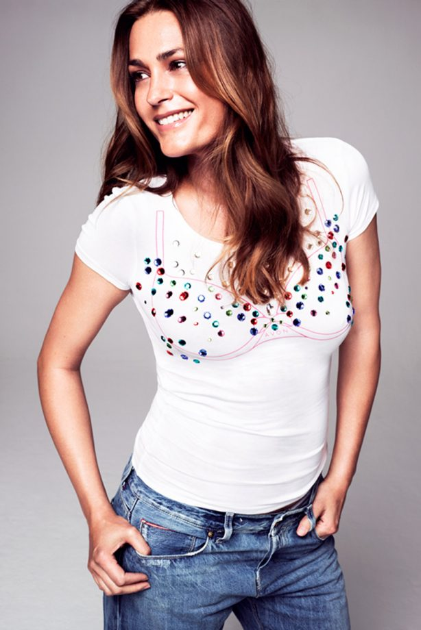 Yasmin Le Bon for Breast Cancer Awareness Month