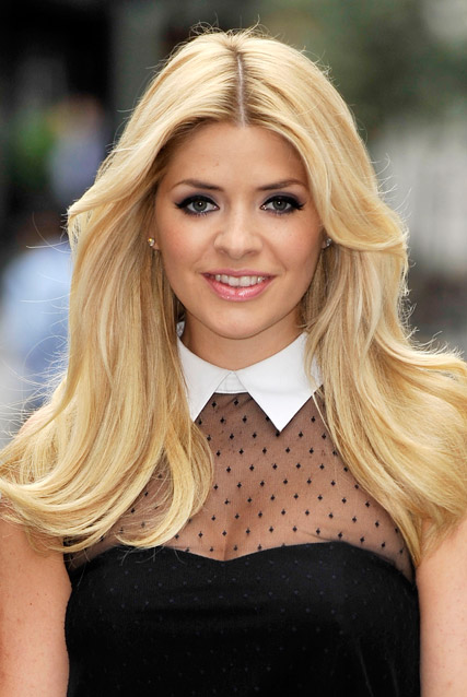 Holly Willoughby launches her Very.co.uk autumn/winter 2012 collection in London