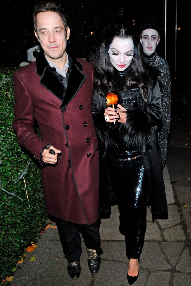 Kate Moss and Jamie Hince at Halloween