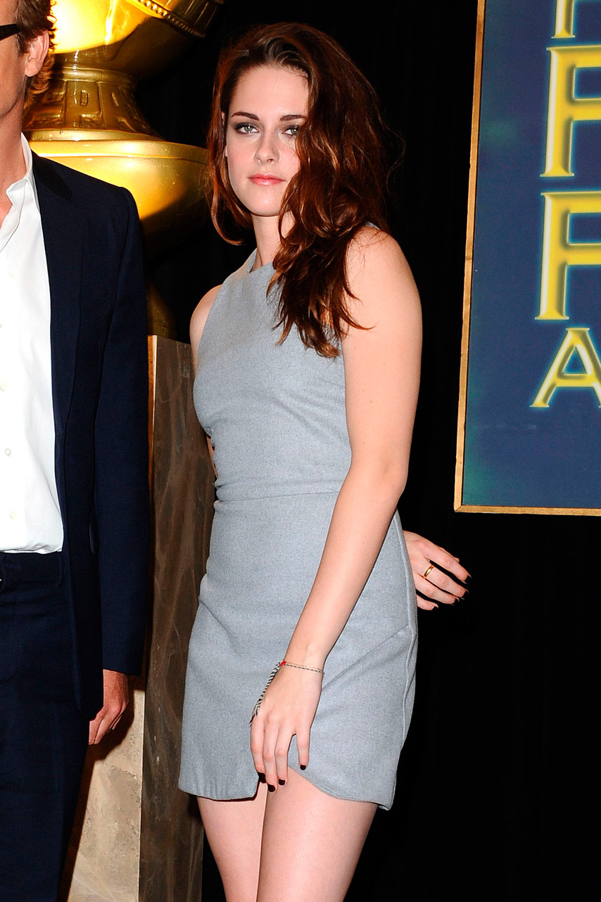 Kristen Stewart looks chic at Cecil B DeMille award announcement in LA
