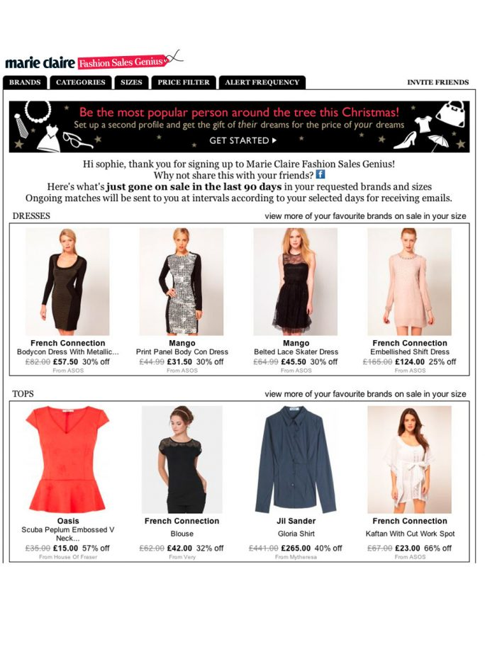 11b59c57fc1f2 Sales special! A new online shopping service from your favourite ...