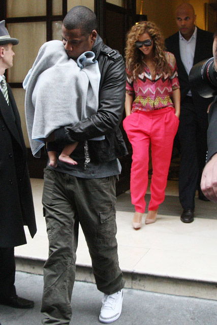 Beyonce Knowles, Jay-Z and Blue Ivy in Paris - Marie Claire - Marie Claire UK