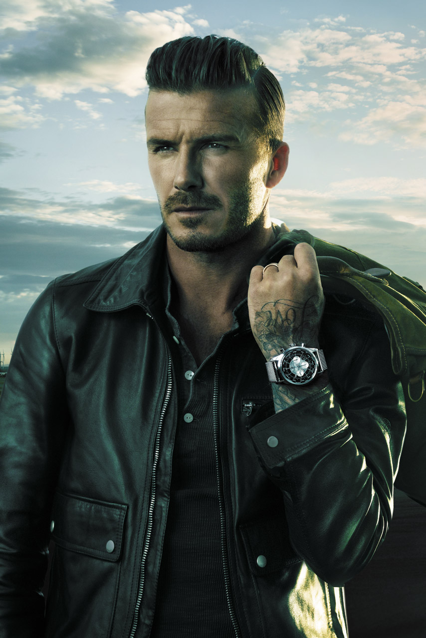 David Beckham Smoulders As The New Face Of Breitling Watches