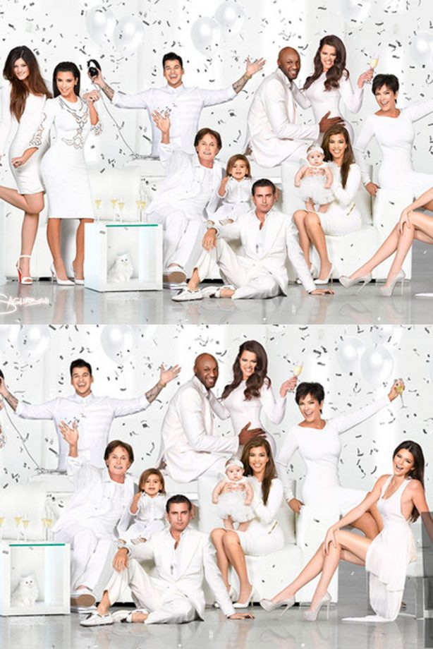 Kim Kardashian reveals family\'s 2012 Christmas card