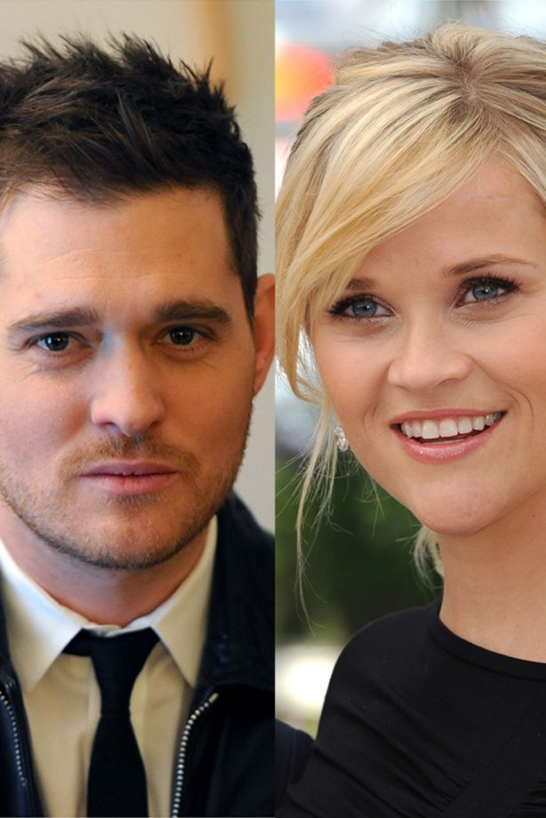 Reese Witherspoon Michael Buble