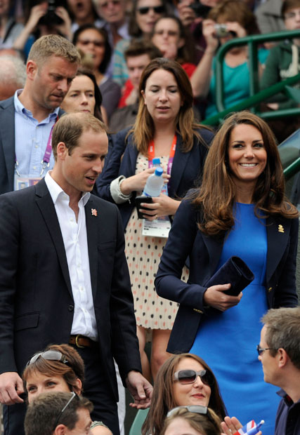 duchess of cambridge, olympics 2012, prince william, wimbledon, andy murray, marie claire, marie claire uk