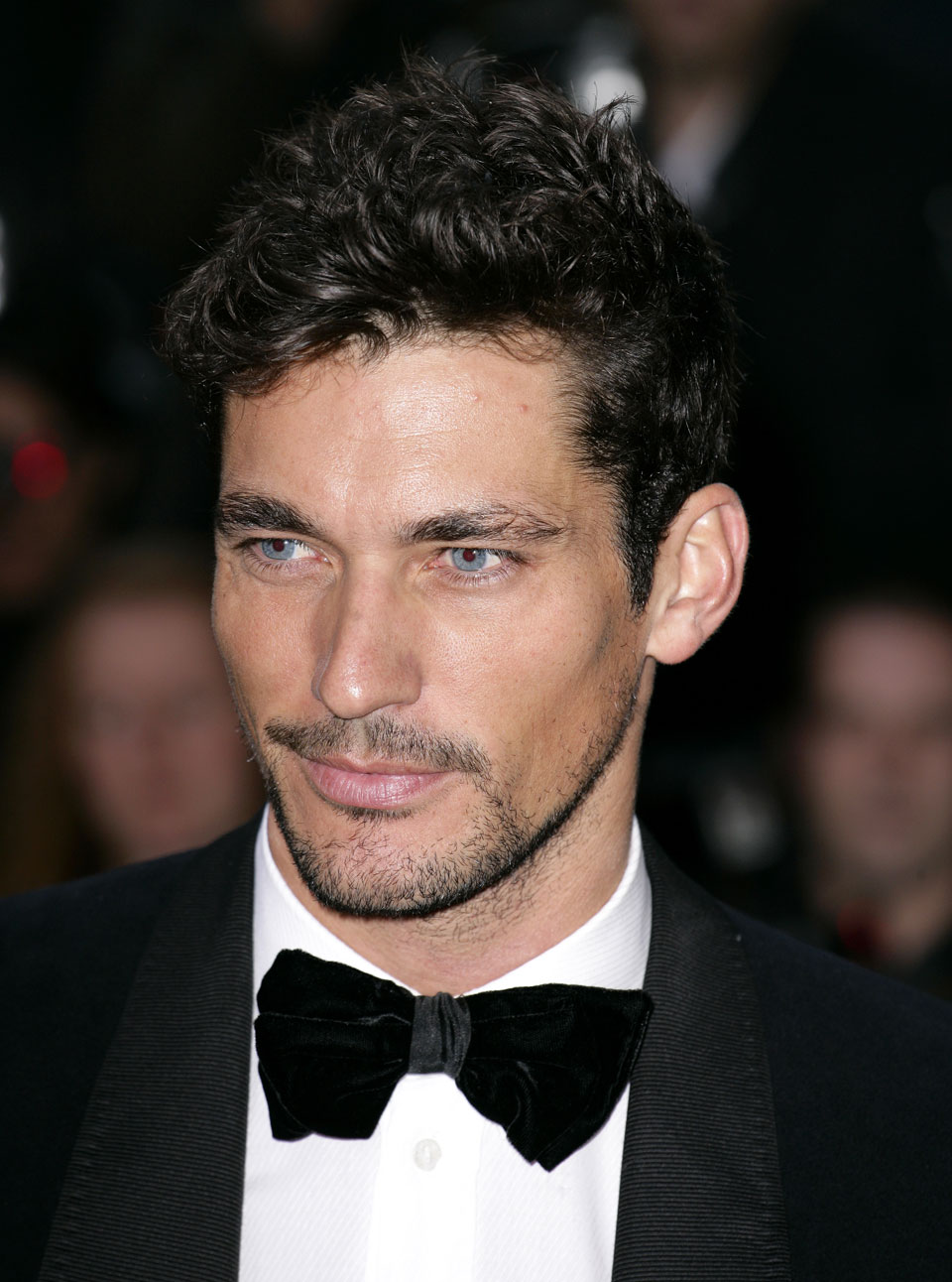 David Gandy supports International Women's Day action by appearing on panel