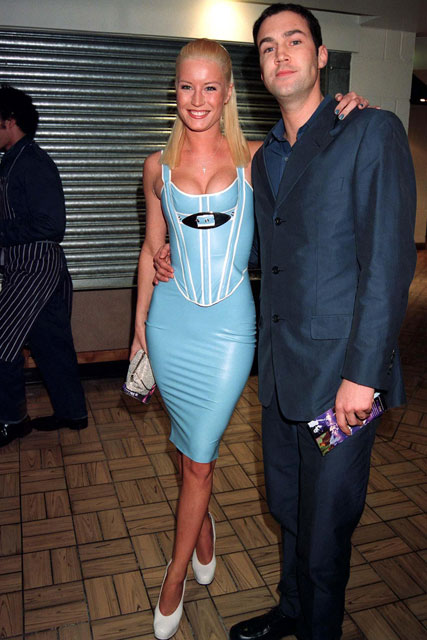 Denise Van Outen and Johnny Vaughn - 10 Worst Dressed Brit Awards - Fashion - Marie Claire