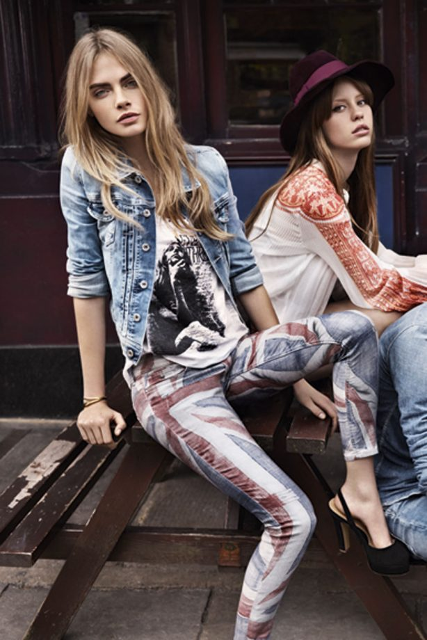 Cara Delevingne is the new face of Pepe Jeans