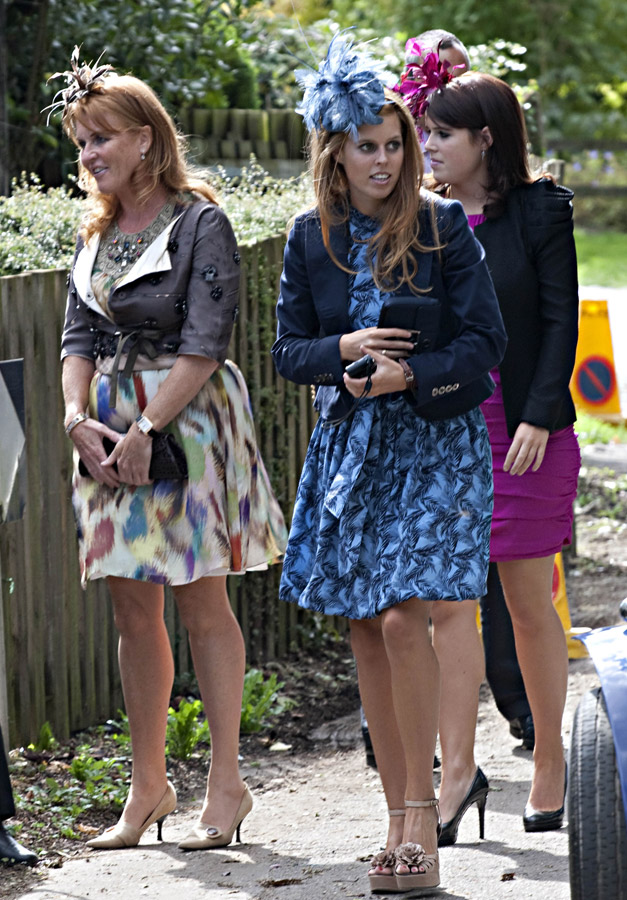 Sarah Ferguson Princess Beatrice And Eugenie Celebrity Wedding Guests Weddings