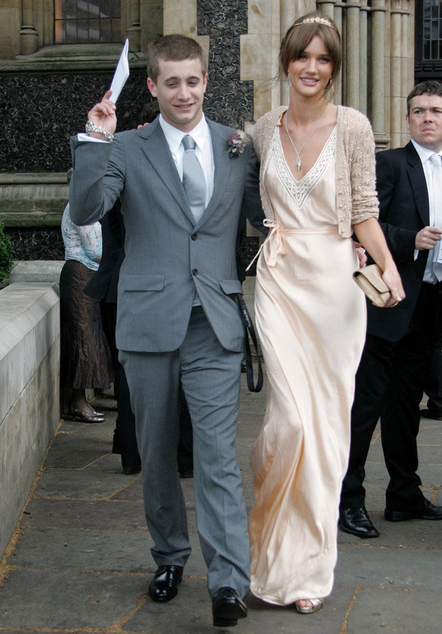 Tyrone Wood And Rosie Huntington Whiteley Celebrity Wedding Guests Weddings