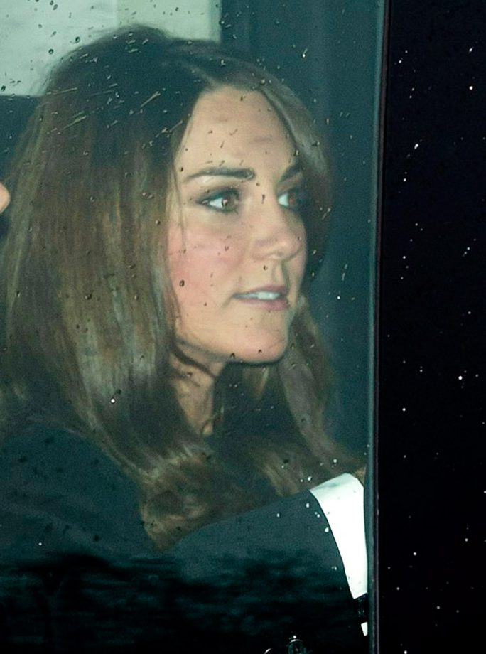 Kate Middleton attends the Buckingham Palace Christmas lunch