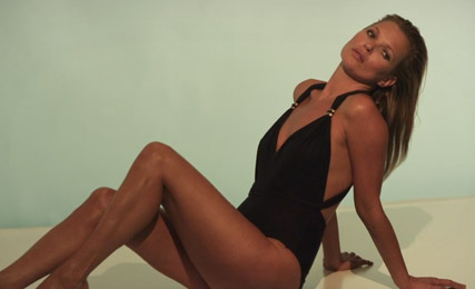 Kate Moss for St. Tropez video