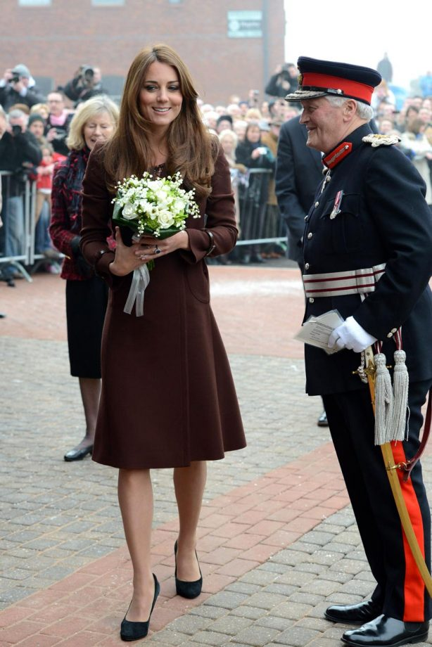 Kate Middleton visits Grimsby Garticle - Marie Claire UK - Duchess of Cambridge