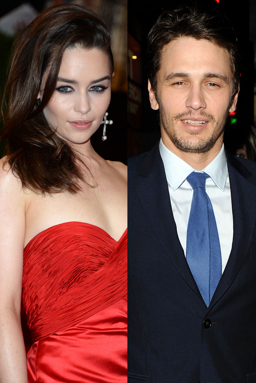 James Franco Girlfriend History Best fifty shades of grey movie: james franco and emilia clarke tipped