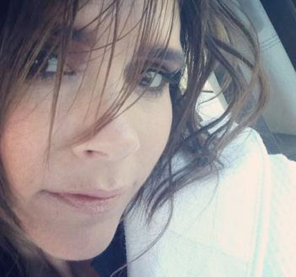 Victoria Beckham Shows Off Short Hairstyle On Twitter