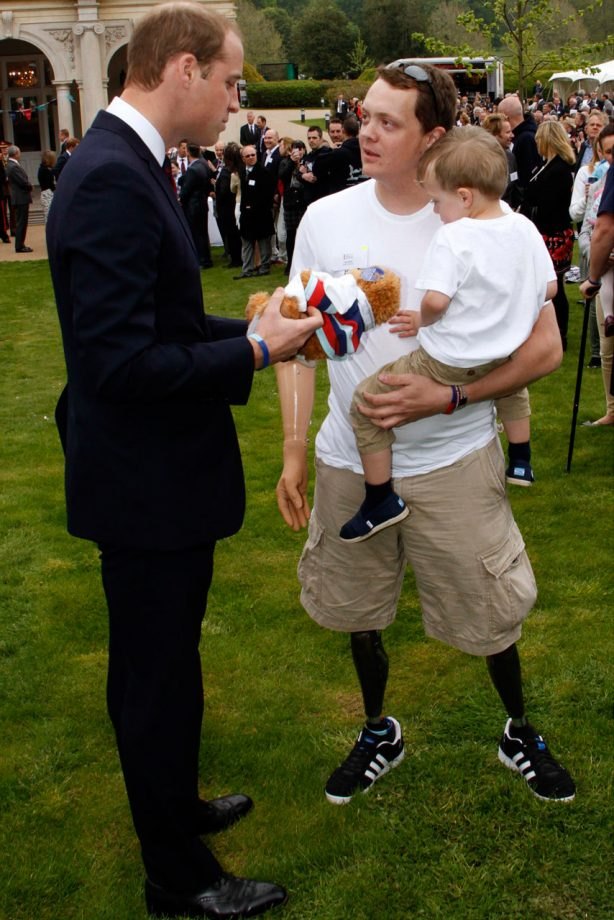 Prince William visits Help For Heroes