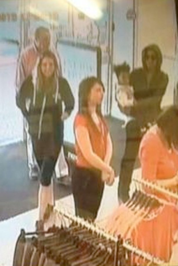 Beyonce in Mothercare