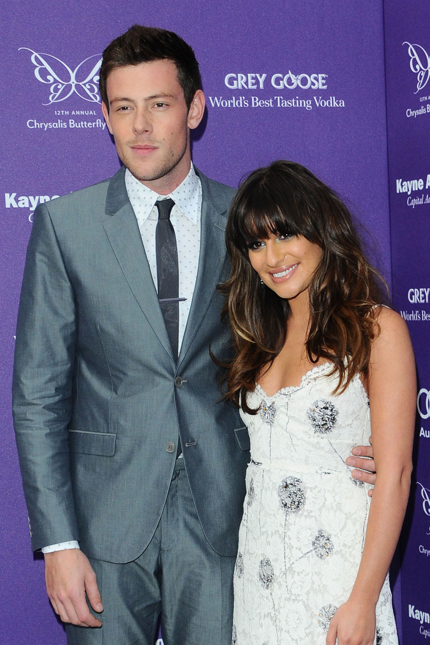 Lea Michele Joins Glee Cast For Cory Monteith Memorial